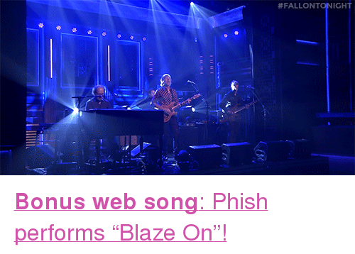 phish blaze on studio