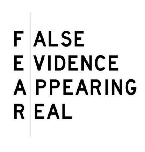 Image result for false evidence appearing real
