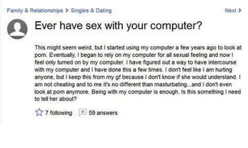 Get sex on my computer