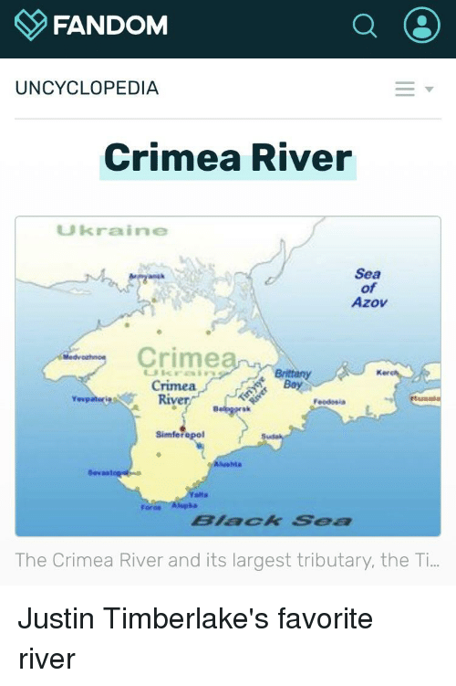 Fandom Uncyclopedia Crimea River Ukraine Sea Of Azov Crimea Kee