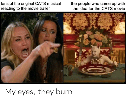 Fans of the Original CATS Musical Reacting to the Movie