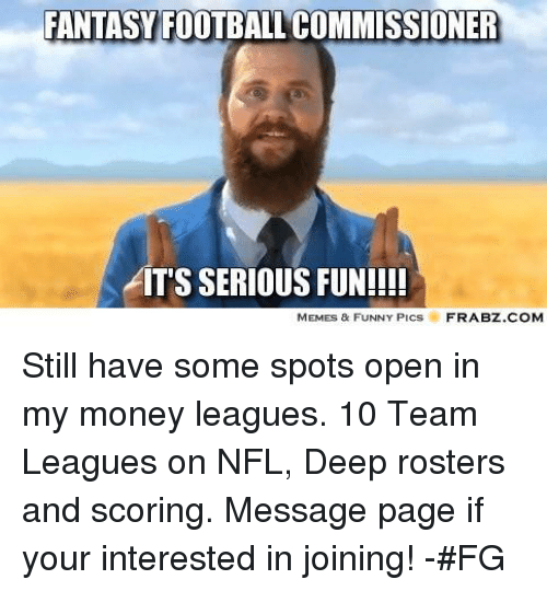 0d88776c Fantasy Football, Football, and Funny: FANTASY FOOTBALL COMMISSIONER AITS  SERIOUS FUN!
