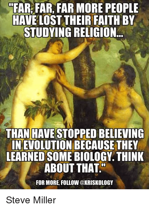 far far far more people have losttheir faith by studying 13054970 ✅ 25 best memes about biologics biologics memes,Biology Memes