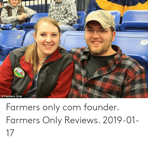 Farmers Only Reviews >> Farmers Only Farmers Only Com Founder Farmers Only Reviews