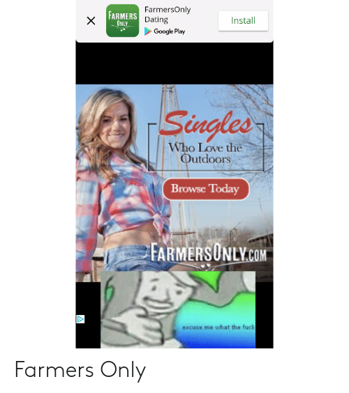 Farmers love dating site