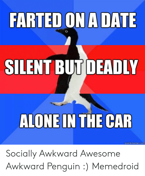FARTED ON a DATE SILENT BUT DEADLY ALONE IN THE CAR