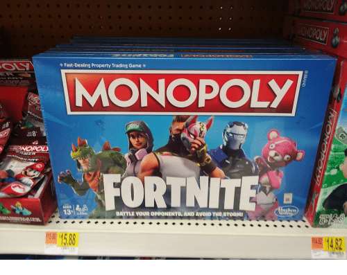 Fast Dealing Property Trading Game Monopoly Edad Nopol Fortnite Ades