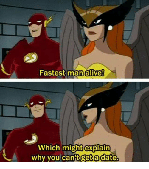 Fastest Man Alive! Ch Might Explain Why You Can't Get A