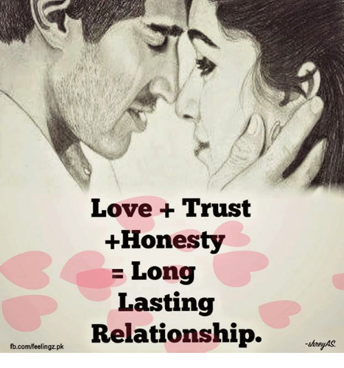 long lasting relationship meme about trust