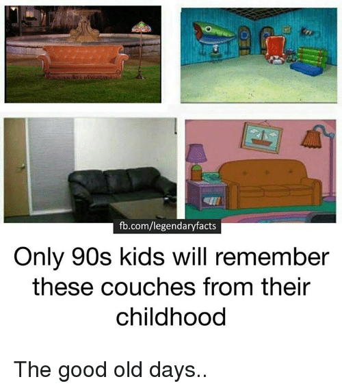 Fbcomlegendaryfacts Only 90s Kids Will Remember These Couches From