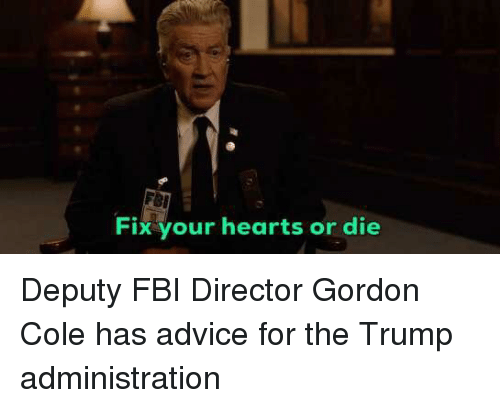 Fbi Fix Your Hearts Or Die Advice Meme On Meme