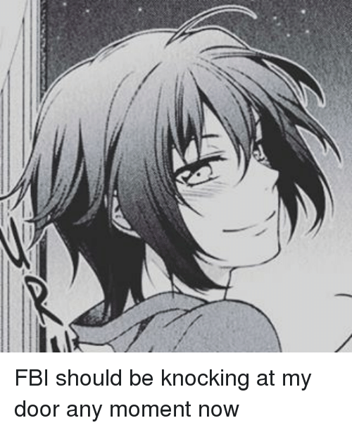 Fbi Should Be Knocking At My Door Any Moment Now Fbi Meme On Me Me