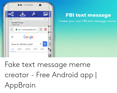 FBI Text Message Create Your Own FBI Text Message Meme O 0 O Ipswww