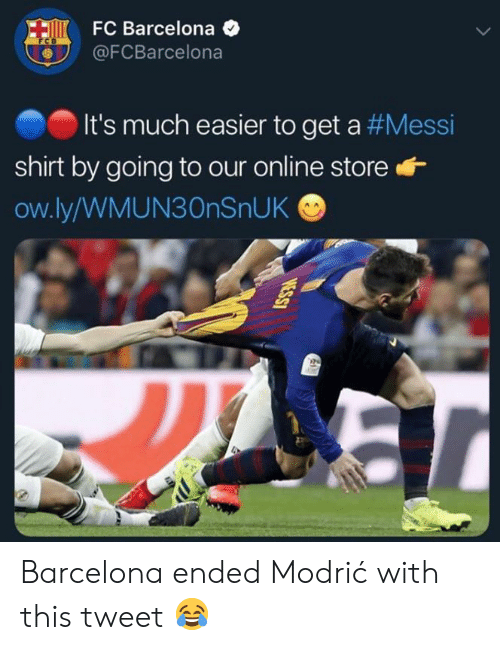 5eb50c20c FC Barcelona O It s Much Easier to Get a  Messi Shirt by Going to ...