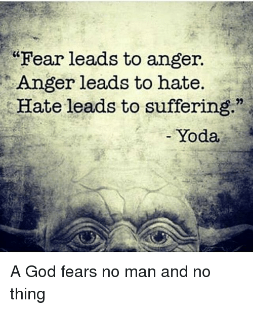 fear leads to anger anger leads to hate hate leads 24063039 ✅ 25 best memes about hate leads to suffering hate leads to,Fear Leads To Anger Meme