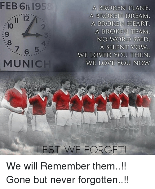 a broken dream A broken dream a broken heart a broken team no word said a silent vow we loved you then we love you now after project yeaaaaah.