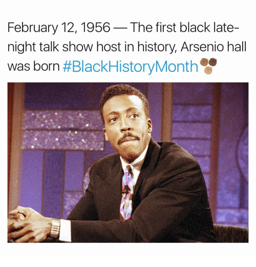 february 12 1956 the first black late night talk show 14223653 ✅ 25 best memes about late night talk show hosts late night,Late Night Meme