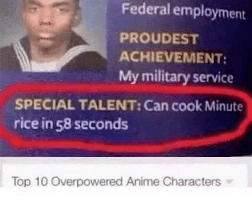 Overpowered Anime