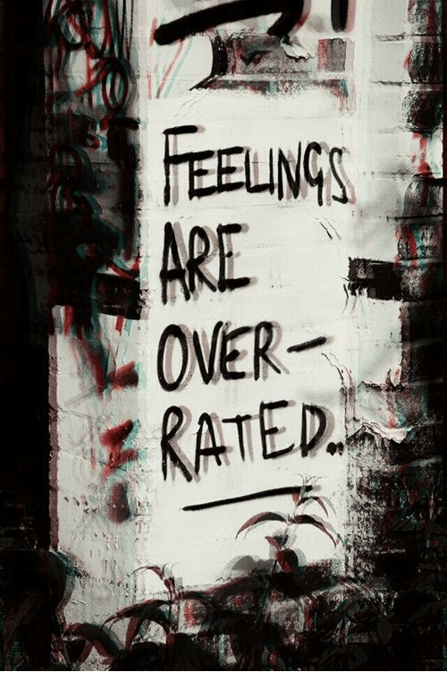 Feelings, Are, and Rated: FEELINGS  ARE  RATED