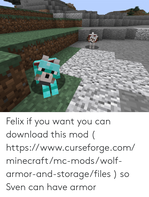 Felix if You Want You Can Download This Mod