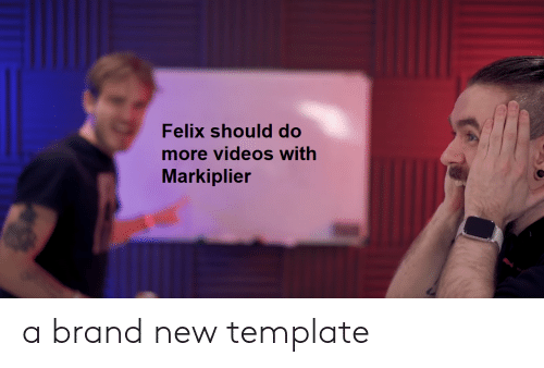 Felix Should Do More Videos With Markiplier a Brand New