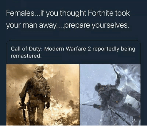 Femalesif You Thought Fortnite Took Your Man Awayprepare