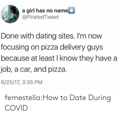 Target, Tumblr, and Blog: femestella:How to Date During COVID
