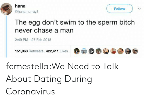 Dating, Target, and Tumblr: femestella:We Need to Talk About Dating During Coronavirus