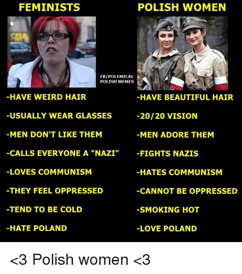 feminists polish women fbipolemical polish memes have weird hair have 15983384 ✅ 25 best memes about polish women polish women memes