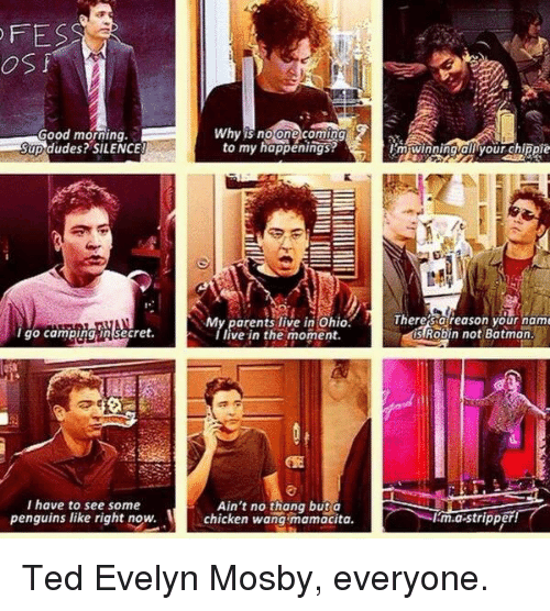 Ted Evelyn Mosby