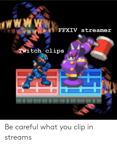 FFXIV Streamer Twitch Clips Be Careful What You Clip in Streams