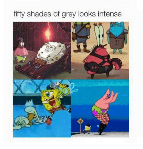Fifty Shades of Grey, Memes, and Grey: fifty shades of grey looks intense