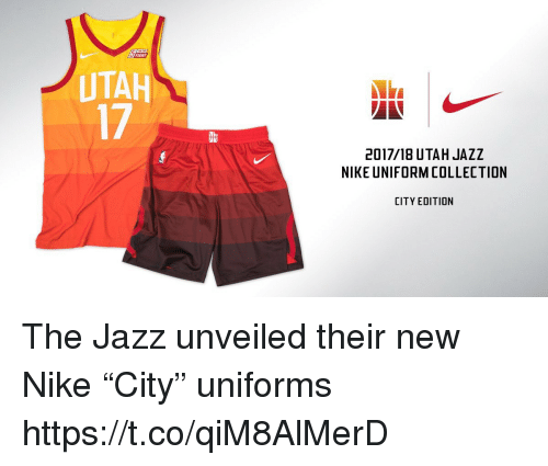 Nike, Utah, and Fight: FIGHT UTAH 17 2017/18 UTAH JAZZ NIKE