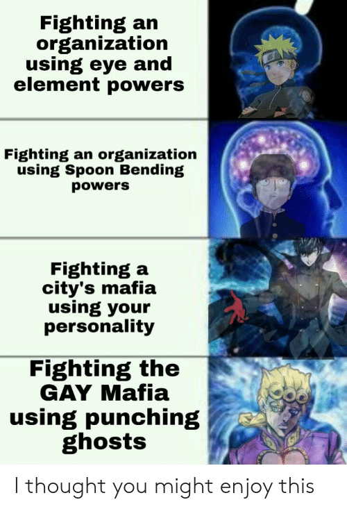 Fighting an Organization Using Eye and Element Powers