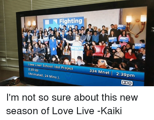 Fighting Love Live! School Idol Project 230-3p 334 Mnet 239pm