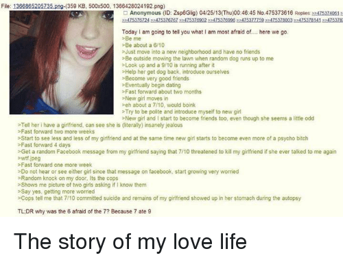 Psycho dating stories