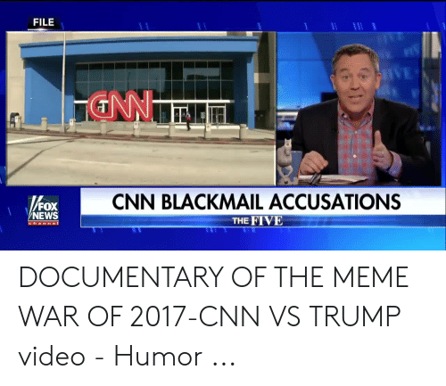 FILE CNN BLACKMAIL ACCUSATIONS FOX NEWS THE FIVE Channel