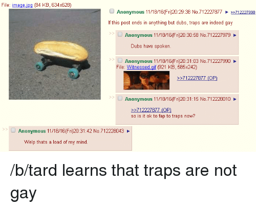 4chan dating traps is gay