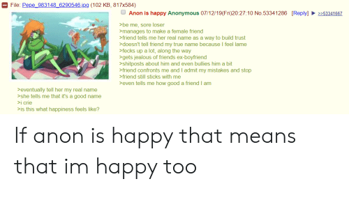File Pepe 983148 6290546 Jpg 102 KB 817x584 Anon Is Happy