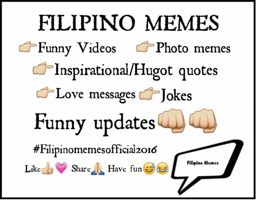 Filipino Memes Funny Videos Photo Memes Inspirationalhugot Quotes