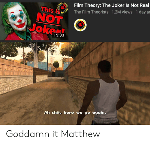 Film Theory The Joker Is Not Real The Film Theorists 12m