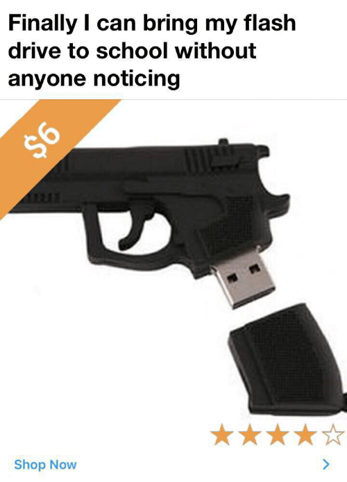 School, Drive, and Flash: Finally I can bring my flash  drive to school without  anyone noticing  $6  Shop Now