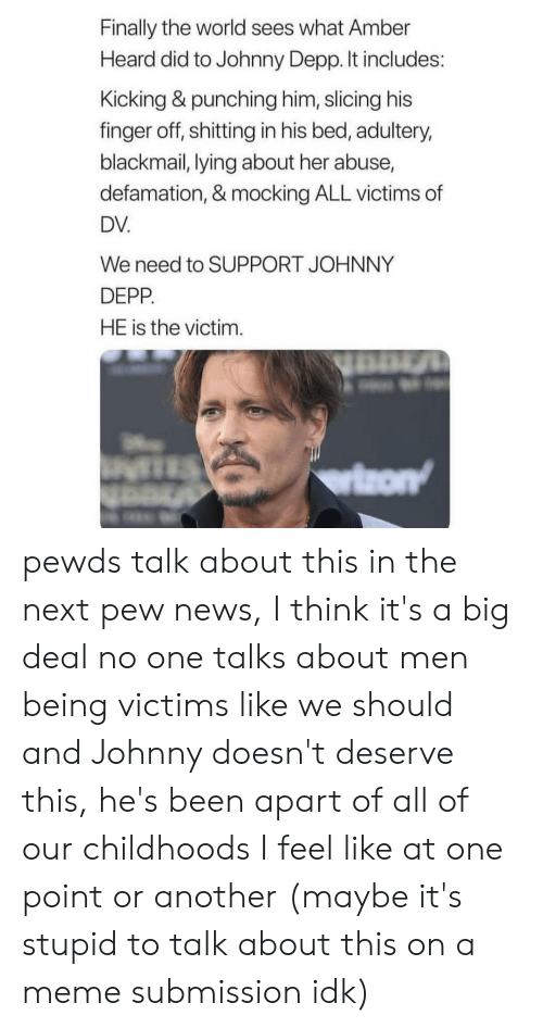 Finally The World Sees What Amber Heard Did To Johnny Depp It