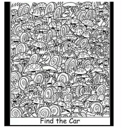 Indonesian (Language), Car, and The Car: Find the Car