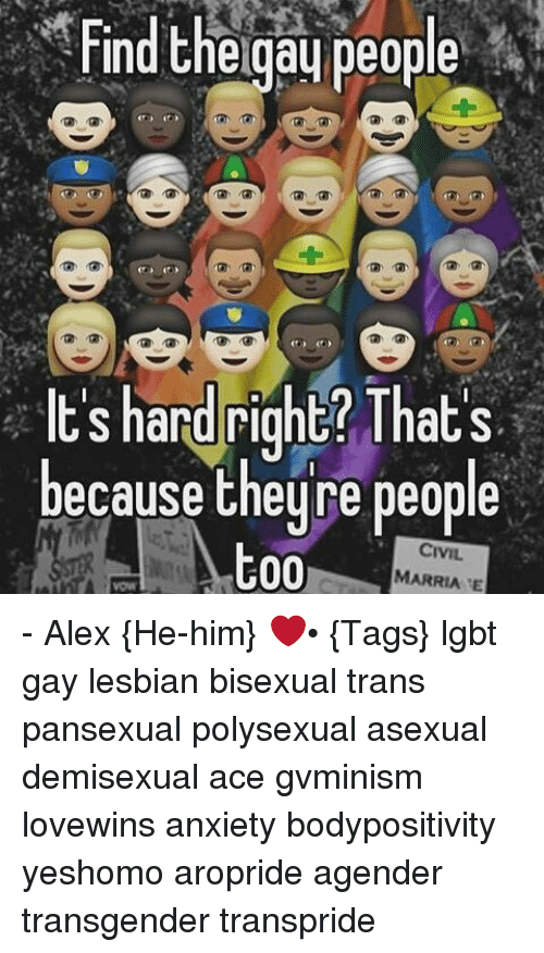 Bisexual e gay lesbian people