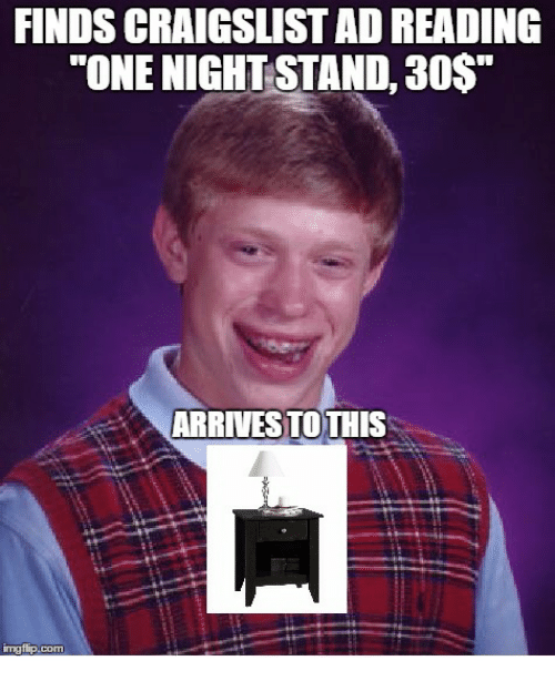 One night stand craigslist