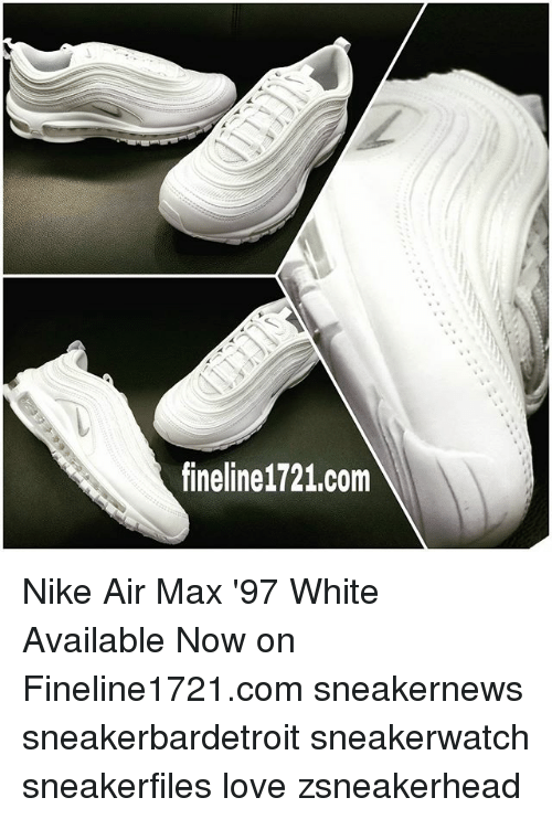 Cheap Nike Air Max 97 Black White Cvs Cladem