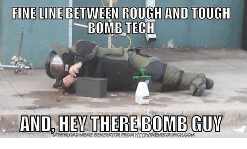 finelinebetween rough and tough bomb tech and hey there bomb 12572773 ✅ 25 best memes about sports meme generator sports meme