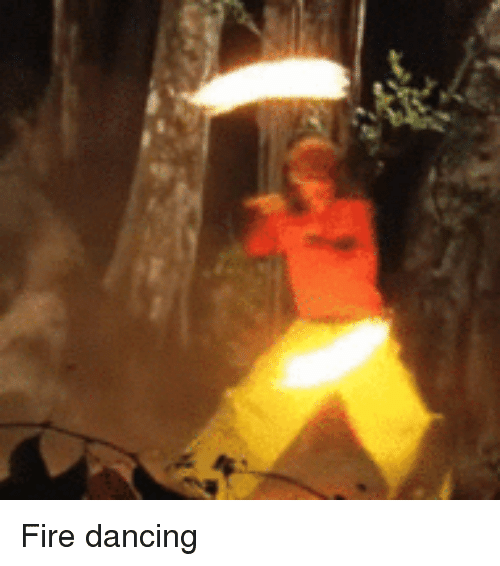 Dancing, Fire, and Perfect Loop Gif