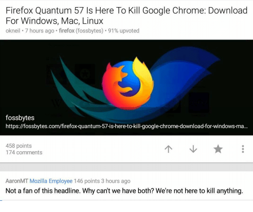 Firefox Quantum 57 Is Here to Kill Google Chrome Download for